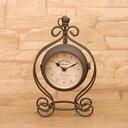 【ポイント2倍】置き時計 ボスサイドクラウンクロック[Both Side Crown Clock] 【Sサイズアンティーク 雑貨クロック おしゃれ デザイン時計 置時計 アンティーク 雑貨 両面時計 アイアン ランキング 通販 販売】【RCP】【あす楽_土曜営業】 02P21Aug14