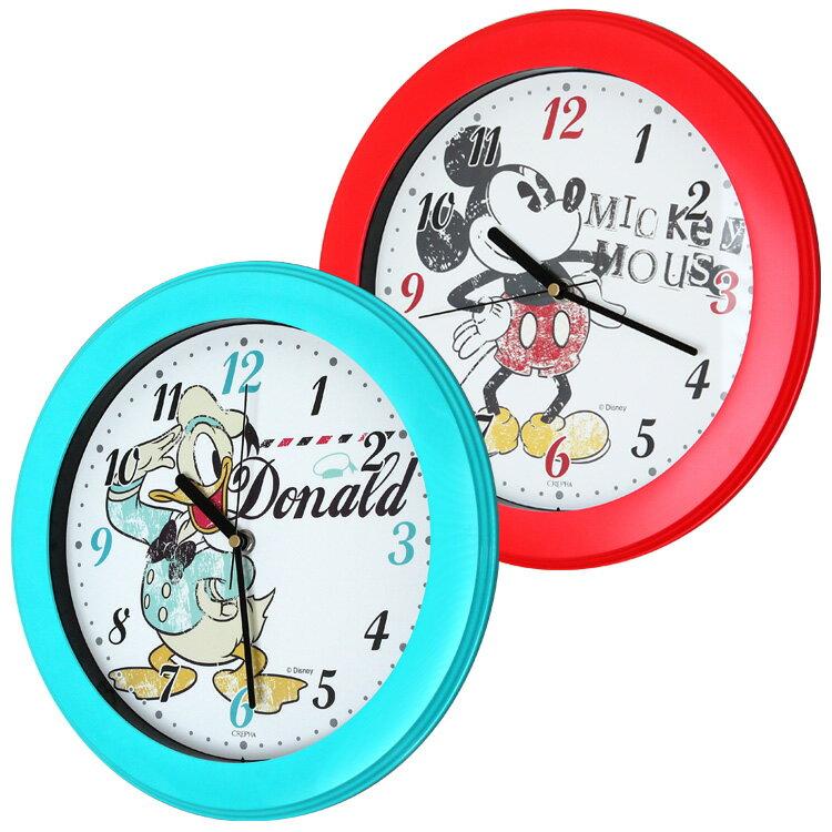 100円クーポン獲得可★ディズニー 掛け時計 30cm【ミッキー ミッキーマウス ドナルド…...:clock:10001973
