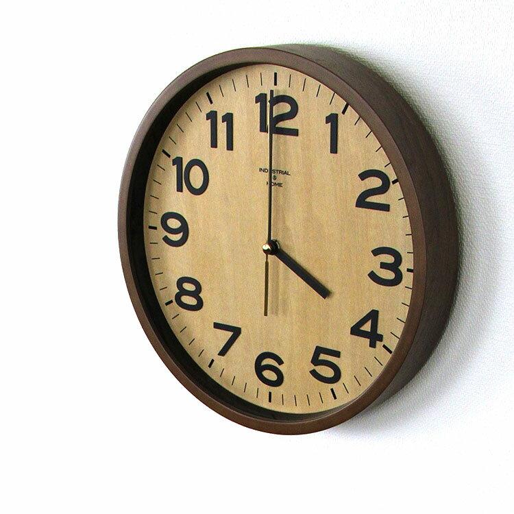 【送料無料】電波時計 ダリル DARYL CL-7973 インターフォルム【壁掛け時計 インテリア時計 男前 掛け時計 掛時計 シンプル 壁掛け電波時計 北欧 木製 おしゃれ ギフト ブランド 和モダン 店舗 見やすい ウッド調 新築祝い 結婚祝い プレゼント クリスマス 壁時計】