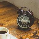 置き時計 目覚まし時計 コーヒーブレイク インターフォルム interform cl-1475 ステップ ムーブメント【置時計 めざまし 大音量 アラーム スヌ...