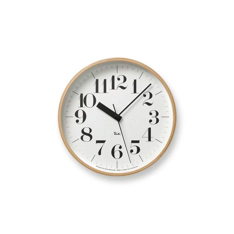 壁掛けフック特典有★電波時計 リキクロック RIKI CLOCK RC WR07-11【壁掛け時計 時計 掛け時計 インテリア時計 おしゃれ 壁掛け電波時計 壁掛け シンプル 北欧 渡辺力 デザイナーズ デザイン 見やすい ウォールクロック ギフト プレゼント 結婚祝い クリスマス】