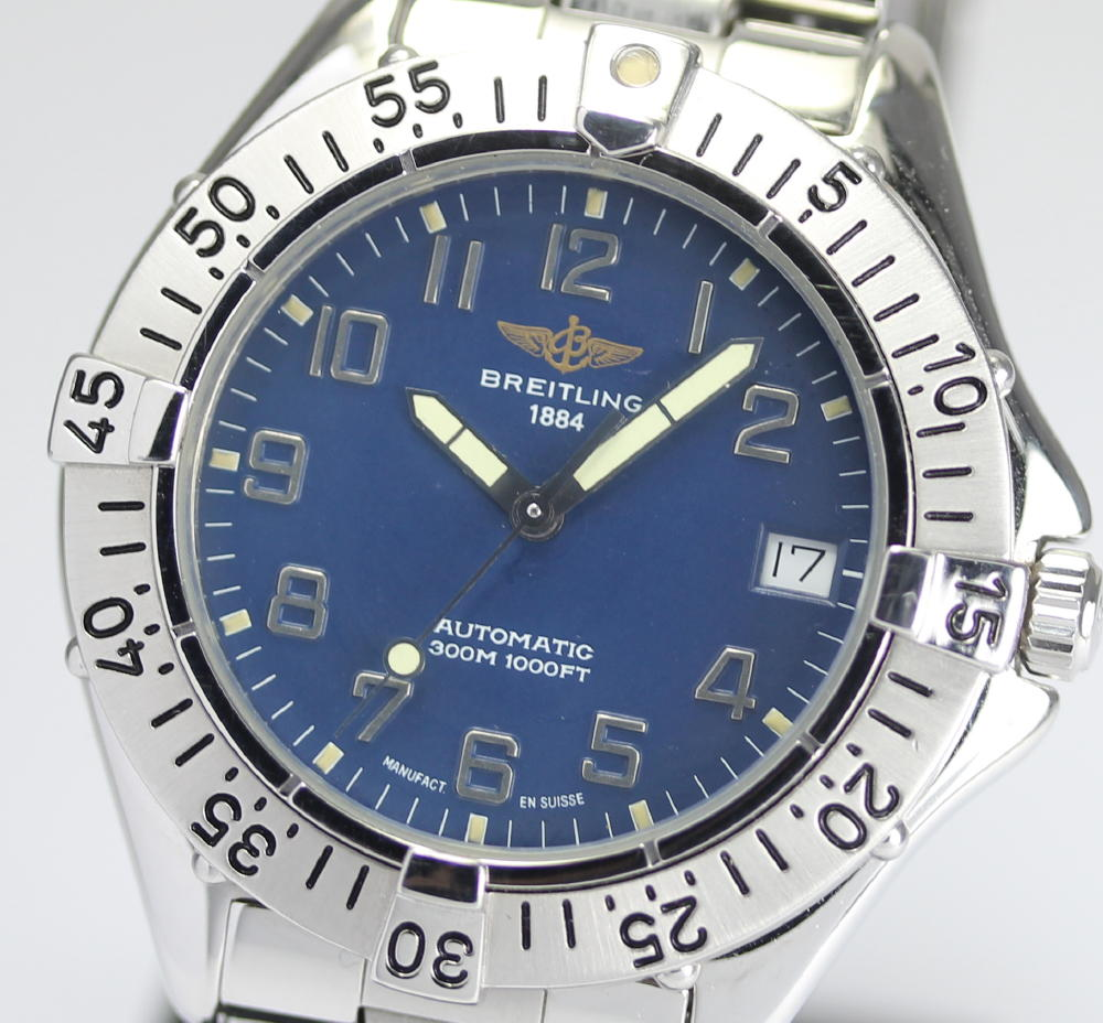 Winding A Breitling Colt
