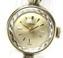 【TUDOR】チュードル カットガラス アンティーク 1848 手巻き レディース【中古】
