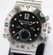 【9月16日価格改定!】ブルガリ ディアゴノスクーバ SD38S GMT 自動巻き メンズ腕時計【中古】
