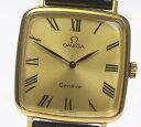 箱【OMEGA】オメガ ジュネーブ cal.625 手巻き 純正革ベルト ボーイズ【中古】