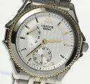 ※ジャンク【SEIKO】セイコー クレドール パシフィーク パワーリザーブ 4S79-0A20 自動巻き メンズ腕時計◆【180329】【18052】【中古】
