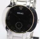 ヴェルサーチ BLQ99 スモールセコンド クォーツ メンズ腕時計【中古】