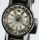 【6月16日値下げ!】オメガ カットガラス Cal.484 シルバー 手巻き レディース腕時計【中古】