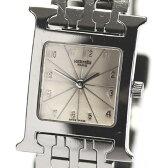 【6月16日値下げ!】エルメス Hウォッチ HH1.210 ブレス クォーツ レディース腕時計【中古】