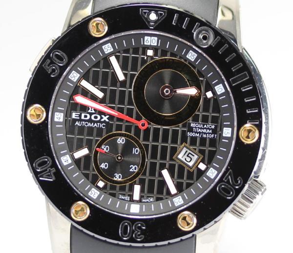 エドックス クラスワン レギュレーター 77001 チタン QZ メンズ【】 ●ブランド腕時計専門店CLOSER!15時までの決済で即日発送可能★新生活にブランド腕時計はいかがでしょうか。是非ご利用下さいませ!
