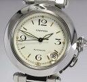 【2月10日価格改定!】【Cartier】 カルティエ パシャC W31015M7 自動巻き ボーイズ ★【中古】