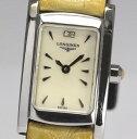 【6月16日値下げ!】ロンジン ドルチェビータ L5.158.4 クォーツ レディース腕時計【中古】