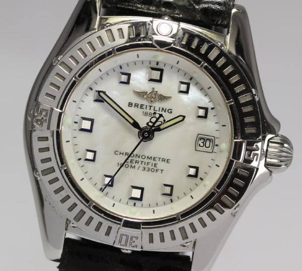 ブライトリング カリスティーノA72345 クォーツ レディース☆【】 ●ブランド腕時計専門店CLOSER!15時までの決済で即日発送可能★新生活にブランド腕時計はいかがでしょうか。是非ご利用下さいませ!