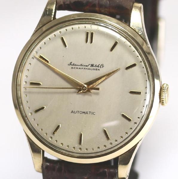 【IWC】 オールドインター ペラトン式 Cal.853 自動巻き メンズ アンティーク【】 ●ブランド腕時計専門店CLOSER!15時までの決済で即日発送可能★新生活にブランド腕時計はいかがでしょうか。是非ご利用下さいませ!