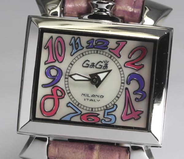 ガガミラノ ナポレオーネ 6030.7 ホワイトシェル QZ レディース【】 ●ブランド腕時計専門店CLOSER!15時までの決済で即日発送可能★新生活にブランド腕時計はいかがでしょうか。是非ご利用下さいませ!