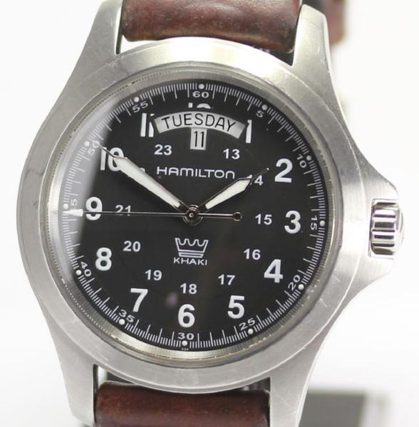 【ハミルトン】カーキキング デイデイト H644510 QZ メンズ☆【】 ●ブランド腕時計専門店CLOSER!15時までの決済で即日発送可能です★在庫数大幅増加中!早い者勝ち☆是非ご利用下さいませ★