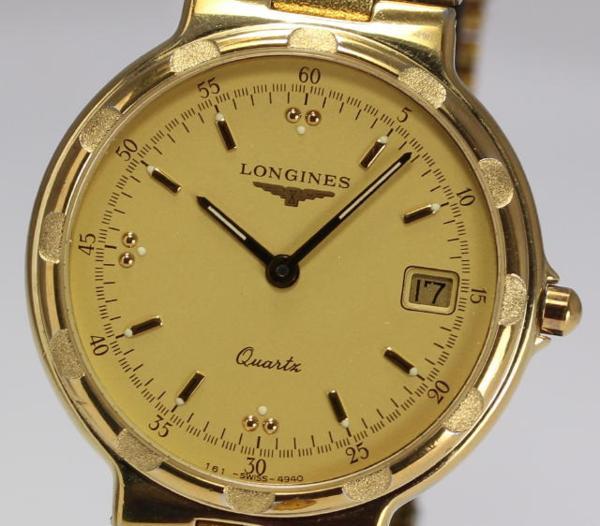 【ロンジン】コンクエスト SS/GP デイト クォーツ メンズ 腕時計【】 ●ブランド腕時計専門店CLOSER!15時までの決済で即日発送可能です★在庫数大幅増加中!早い者勝ち☆是非ご利用下さいませ★腕時計 白 メンズ