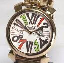 ガガミラノ 250本限定 スリム 46 5081.5 QZ メンズ腕時計【中古】