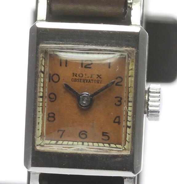 【2月14日価格改定!】ロレックス ROLEX OBSERVATORY SS×革 手巻き レディース アンティーク【】 ●ブランド腕時計専門店CLOSER!15時までの決済で即日発送可能★新生活にブランド腕時計はいかがでしょうか。是非ご利用下さいませ!【あさい】