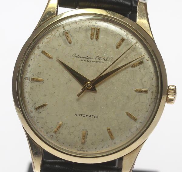 IWC アンティーク 自動巻き Cal.853 ペラトン式 メンズ腕時計【】 ●ブランド腕時計専門店CLOSER!15時までの決済で即日発送可能★新生活にブランド腕時計はいかがでしょうか。是非ご利用下さいませ!