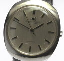 IWC インター アンティーク 自動巻き 革ベルト メンズ腕時計【17075】【中古】