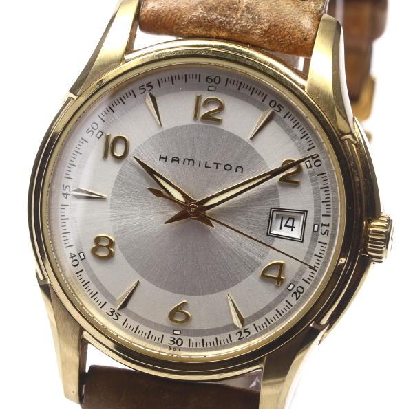 【ハミルトン】 ジャズマスター H324310 GP クォーツ メンズ ★【】 ●ブランド腕時計専門店CLOSER!15時までの決済で即日発送可能★新生活にブランド腕時計はいかがでしょうか。是非ご利用下さいませ!クラシカル