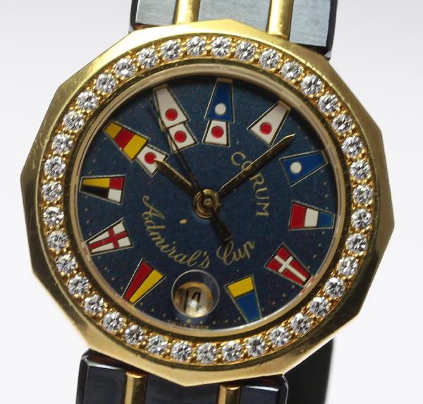 コルム アドミラルズカップ 39.912.33V52 Dベゼル YGコンビ QZ【】 ●ブランド腕時計専門店CLOSER!15時までの決済で即日発送可能★新生活にブランド腕時計はいかがでしょうか。是非ご利用下さいませ!【あかるい】