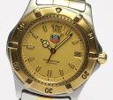 手錶 - 【タグホイヤー】プロ200m WK1121 GPコンビ クォーツ メンズ♪【中古】