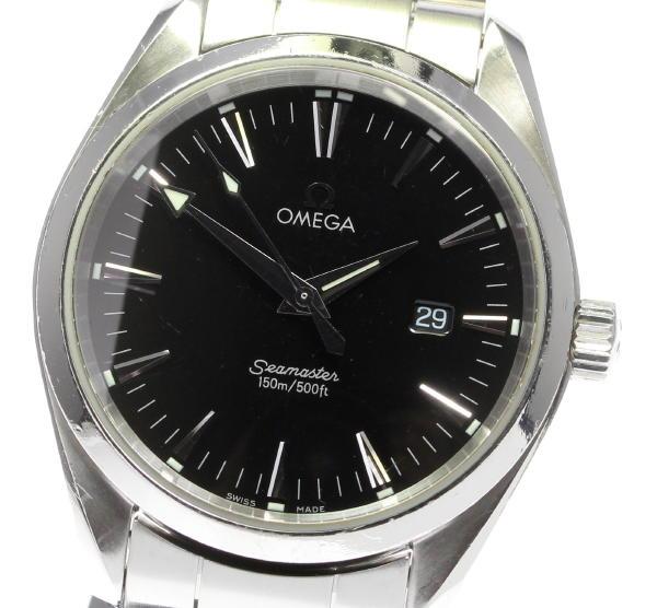 【OMEGA】オメガ シーマスター アクアテラ 2517.50 クォーツ メンズ【】 ●ブランド腕時計専門店CLOSER!15時までの決済で即日発送可能★新生活にブランド腕時計はいかがでしょうか。是非ご利用下さいませ!小さな(小さな)