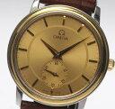 オメガ プレステージ デビル YGベゼル 手巻き 4720 スモールセコンド メンズ腕時計【中古】