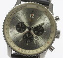 【BREITLING】ブライトリング ナビタイマー 50周年記念モデル A41322 自動巻き 社外革ベルト メンズ【中古】
