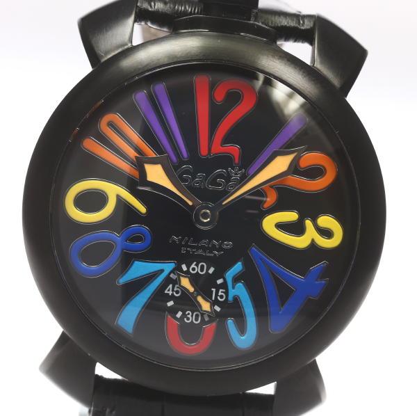 箱付き【GaGaMIRANO】 ガガミラノ マヌアーレ48MM 5012.03S 手巻き メンズ【】 ●ブランド腕時計専門店CLOSER!15時までの決済で即日発送可能★新生活にブランド腕時計はいかがでしょうか。是非ご利用下さいませ!【かたい】