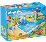 Playmobil(プレイモービル) 子供用プールと滑り台&ジャグジー/Children''s Pool with Whale Fountain【5433】