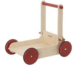 Moover Baby Walker 手押しぐるま(組立式) ナチュラル Moover Toysの画像