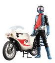 RAH リアルアクションヒーローズ DX 仮面ライダー旧1号 Ver.3.5 & サイクロン号 1/6スケール ABS&ATBC-PVC製 塗装済み可動フィギュア メディコム・トイ