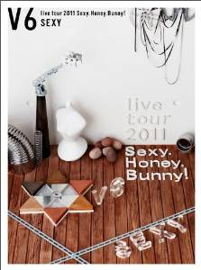 V6 live tour 2011 Sexy.Honey.Bunny!(Sexy盤)(初回…...:clothoid:10009818
