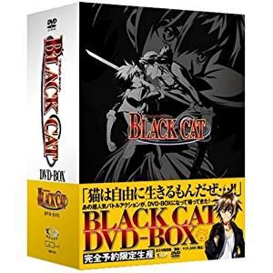 BLACK CAT DVD-BOX (アンコールプレス版) 藤原 啓治 新品