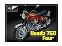 プラッツ 1/8 Honda ドリーム CB750 Four プラモデル MPC827 新品の画像