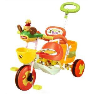 おしゃべりカーゴ三輪車 くまのプーさん オレンジ