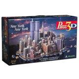 本格仕様の立体模型★ニューヨーク、ニューヨーク 3Dジグソーパズル(3141ピース) puzz 3d社【並行輸入】