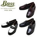 G.H.バス PENNY ペニーローファー レディース BLACK WHITE WINE ブラック ホワイト ワイン 革靴