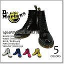 BACK TO BASIC 1460Z 8EYE BOOT Hot Pink Patent Lamper 11821670