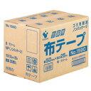 包装用布テープ ノンパッケージ #1590NP 50mm×25m 1セット(90巻:30巻×3箱)