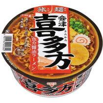 サンヨー食品 サッポロ一番 旅麺 喜多方醤油ラーメン 1ケース(12食)