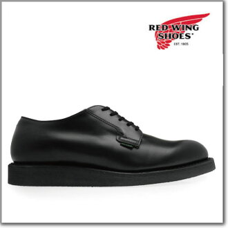 Red Wing REDWING 101 POSTMAN OXFORD BLACK CHAPARRAL 101 postman Oxford black Chaparral leather workshop classic boots dress ◆