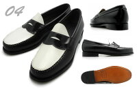 G.H.BASSG.H.バスPennyLoafer(LOGAN)ペニーローファー(ローガン)ブラック/バーガンティ/タンローファー革靴G.HBASSLOGANBLACK/BURGUNDY/TAN/BLACKWHITE490280/490264バスローガン