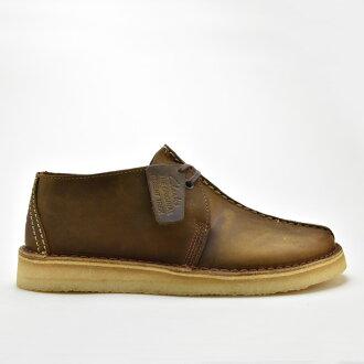 克拉克斯沙漠跋涉 CLARKS 沙漠跋涉 26113552 蜜蜂蠟皮革珠蠟皮革美國標準男裝男式皮靴