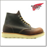 ��åɥ����� REDWING 8196 6INCH ROUND TOE BOOT BROWN 6����� �饦��ɥȥ� �֡��� 8196�� ����֡���