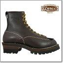 ウェスコ Wesco Custom Jobmaster BROWN 108100 Leather Height 8inch Vibram Sole ウエスコ カスタム ジョブマスター 8インチ ビブラム ソール ブラウン ワークブーツ