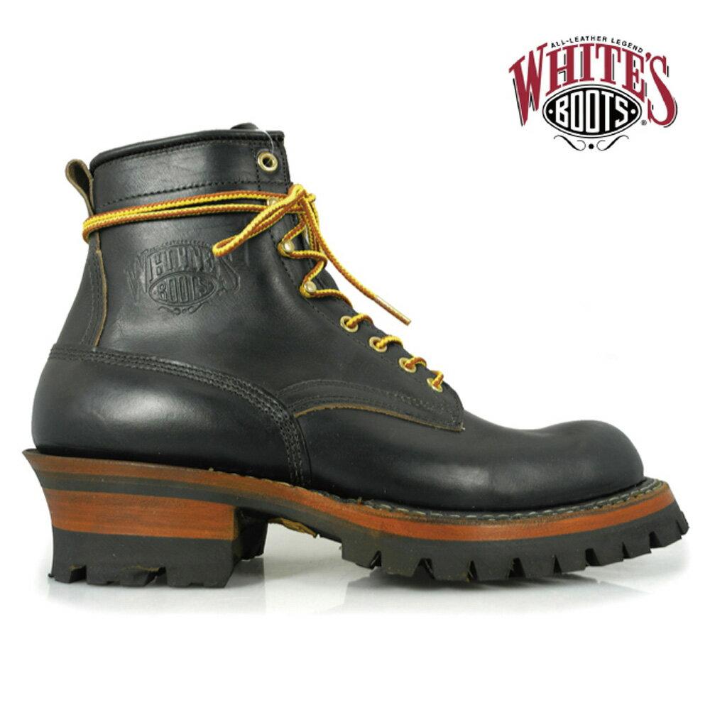 ホワイツ White's Boots 350BV BLACK CHROME EXCELブラック クロームエクセルwhites 350bv bk/cx ワークブーツ